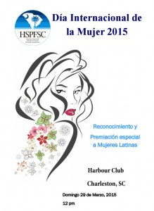 International Day of the Woman 2015 Program Cover
